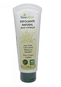 Esfoliante Natural Aloe Cupuaçu - Livealoe