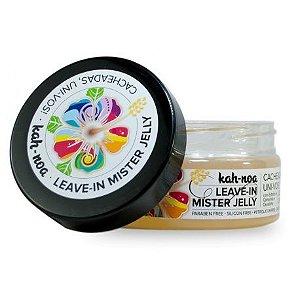 Leave-in vegano Kah-noa Mister Jelly para cabelos cacheados e crespos 200 ml