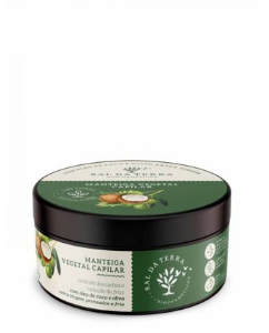 Manteiga Capilar Coco & Oliva - Sal da Terra