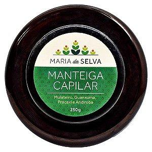 Manteiga Capilar Maria da Selva Orgânica Natural Vegana - Cativa Natureza