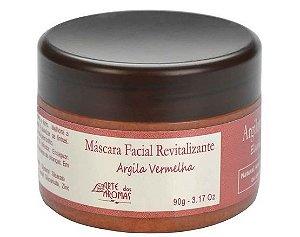 Máscara Argila Vermelha 90g - Arte dos Aromas