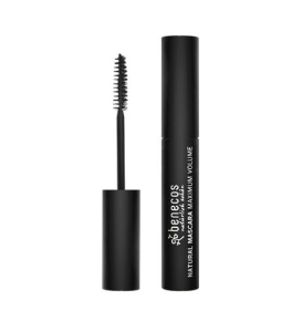 MASCARA DE CILIOS NATURAL MAXIMO VOLUME DEEP BLACK  - BENECOS