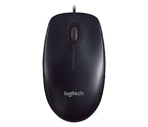 Mouse USB Preto, LOGITECH - M90