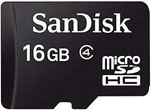 Cartão Memória 16GB Classe 4, SANDISK