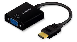 Conversor HDMI x VGA Fêmea com Audio, COMTAC - 9274