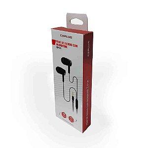 Fone Auricular Intra, C3PLUS EP-01BKX