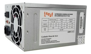 Fonte ATX 200W sem Cabo, TARCT