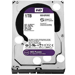 """HD 1000GB Sata III 3,5"""" 7200Rpm 64MB, WESTERN DIGITAL PURPLE WD10PURZ"""