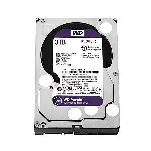 """HD 3000GB Sata III 3,5"""" 5400Rpm 64MB, WESTERN DIGITAL PURPLE WD30PURZ"""