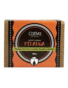 Sabonete de Pitanga 100g - Cativa Natureza