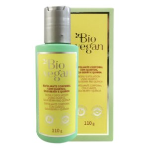 Esfoliante Corporal Natural e Vegano Quartzo, Goji Berry e Quinoa Bio Vegan 110 ml - Bio Vegan