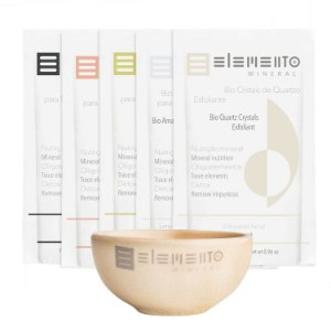 Máscara Kit Argila Purificante  318g  -  Elemento Mineral
