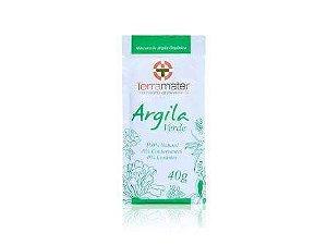 Argila Orgânica Verde  Antioleosidade  -  Terramater  - 40g