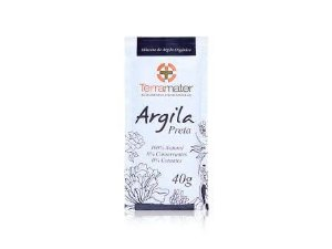 Argila Orgânica Preta  Proteção Térmica  -  Terramater  -  40g