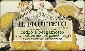 Sabonete Il Frutteto Cidra e Bergamota  -  Nesti Dante   -  250g
