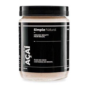 Hidratante Corporal Açai   -  150ml  - Simple Organic