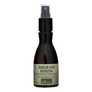 Água de Aloe Nutritiva  - 120ml -  Livealoe