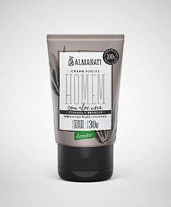Creme Hidratante Facial Homem  - 30g -  Almanati