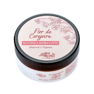 Manteiga Hidratante Flor de Cerejeira  - 196g -  Arte dos Aromas