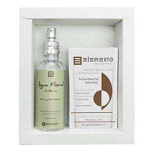 Máscara Kit  Água Floral de Alecrim  -  Elemento Mineral