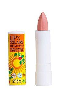 LIPX Solaire LipButter  -  FPS 15 / FPUVA 9  -  Proteção Solar e Hidratação  - 4,6g  -  Labot