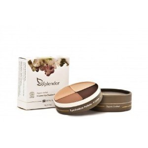 Quarteto de Sombras Natural e Vegano Nude Luminous   10g  -  Splendor