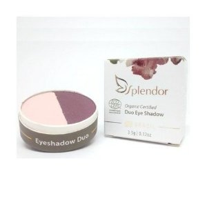 Duo de Sombras Natural e Vegano  Purple Tulip  3,5g   -  Splendor