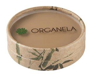 Pó Compacto Orgânico e Vegano  cor 03  Escuro   -  10g  -  Organela