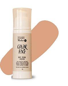 Base Facial Líquida Color Fix  Vegana e Natural   Cor 04  Média  -  30g   Twoone Onetwo
