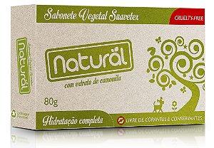 Sabonete Vegetal Natural e Vegano de Camomila   80g   Contente
