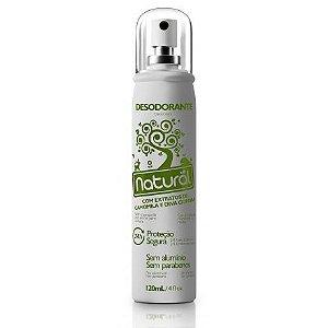 Desodorante Spray Natural e Vegano com Camomila e Erva Cidreira Natural  120ml    -  Contente