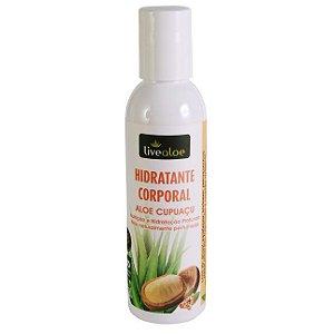 Hidratante Corporal Aloe Cupuaçu Natural e Vegano  150ml  Livealoe