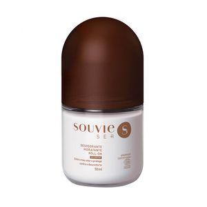 Desodorante Hidratante Roll-on Orgânico Certificado Linha Ser +  Sem Perfume  50ml  -  Souvie