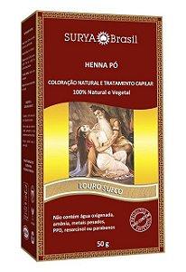HENNA PÓ Louro Sueco 50gr - Surya