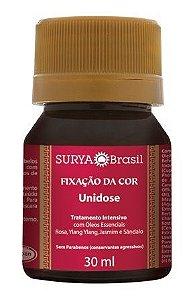 Unidose Fixação da Cor - Tratamento Intensivo - com Buriti, Babaçu e Henna 30ml - Surya Brasil