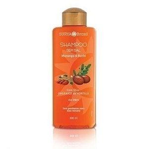 Shampoo Morango e Buriti - 300ml - Surya Brasil