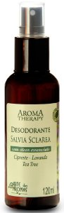 Desodorante Natural Spray de Sálvia com Lavanda, Tea Tree e Cipreste 120ml - Arte dos Aromas