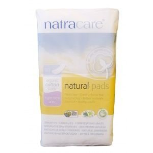 Absorvente Orgânico - Night Time Natural Pads 10uni - Natracare