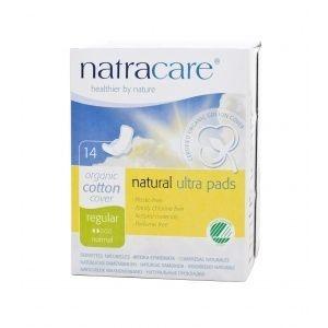 Absorvente Orgânico - Regular com Abas Ultra Pads 14uni - Natracare