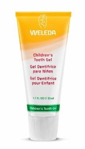 Gel Dental Infantil Sem Flúor com Calêndula e Amêndoa Doce 50ml - Weleda