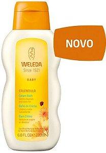 Calêndula Banho Hidratante para Bebê 200ml - Weleda