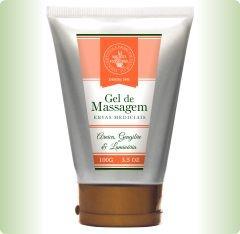 Gel de Massagem com Ervas Medicinais - Arnica, Gengibre e Laminária 100g - Multi Vegetal