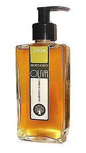 Sabonete  Líquido Vegetal  de Oliva (82%) 280ml Hot  Process  -  Origens do Banho