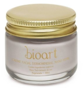 Creme Facial Bioresveratrol (Dermo Vitis) com Argila e Orquídea pote 30ml- Bioart