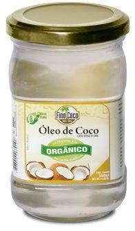 Óleo Vegetal Coco  Extra Virgem Organico - Pote- 200ml - Finococo