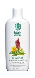 Shampoo de Ervas Estimulantes - Fortalecimento Capilar 240ml - Multi Vegetal