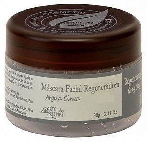 Máscara Facial Regeneradora com Argila Cinza 90g - Arte dos Aromas
