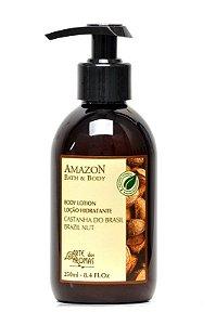 Loção Hidratante Castanha Peles Secas 220ml - Arte dos Aromas