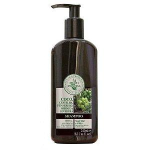 Shampoo de Côco - cabelos opacos e danificados 240ml - Multi Vegetal