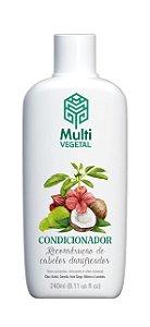 Condicionador de Côco cabelos opacos e danificados - 240ml - Multi Vegetal